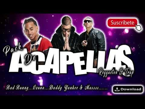 Descargar Pack De Acapellas De Reggaeton & Trap (2018) Bad Bunny, Ozuna, Daddy Yankee & Mas...