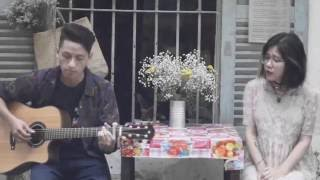 Anh Cứ Đi Đi ( Hàn - Việt Cover ) - Olia Hoàng ft. Guitarist Danh Tú