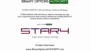 STAR4 NADEX 5 Minute Binary Options Strategy Overview