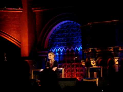 Heidi Talbot - Cathedrals. Live at Union Chapel February 2009. Drever, McCusker & Woomble
