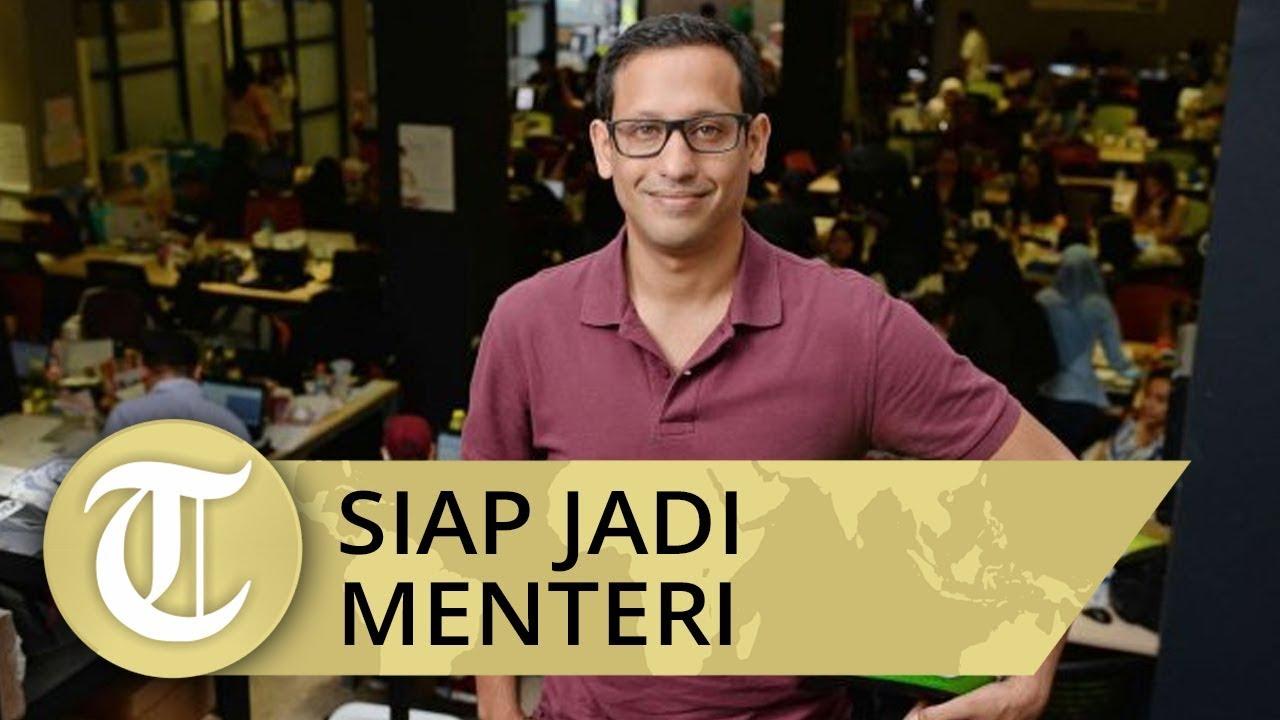Mengaku Siap Jadi Menteri Kabinet Jokowi, Nadiem Makariem Tinggalkan Jabatan CEO Gojek