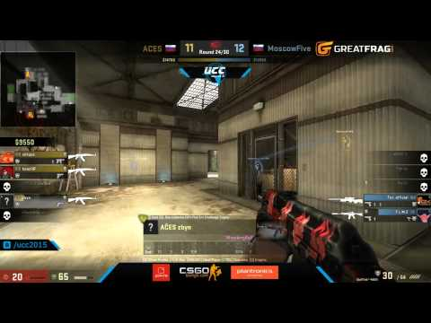 Moscow Five vs ACES - Uprise Champions Cup 2015