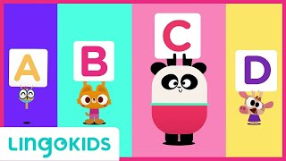 ABC Chant 🎵 ENGLISH FOR KIDS  LINGOKIDS