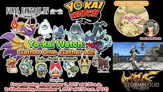 Yokai Watch FFXIV Event 2017