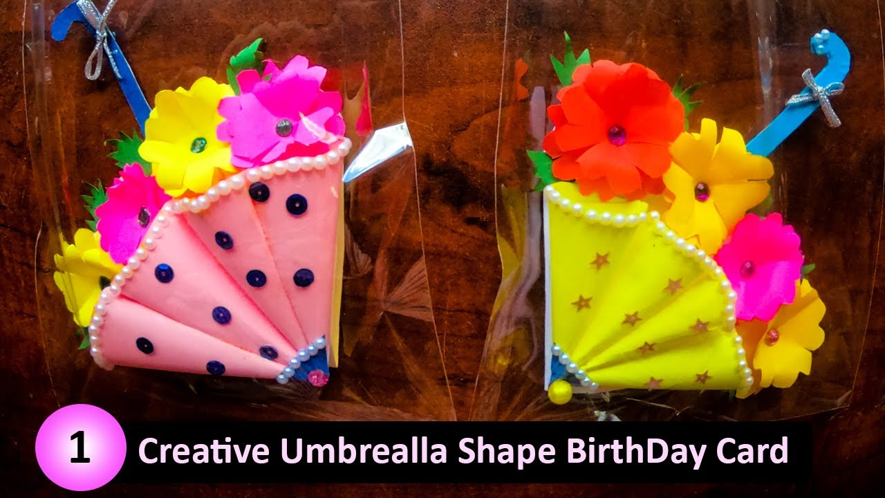 1 creative birthday card design tutorial  youtube