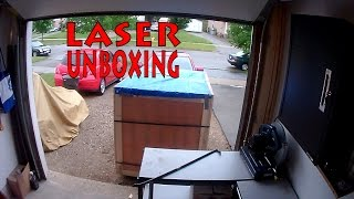 Unboxing the Laser Cutter!