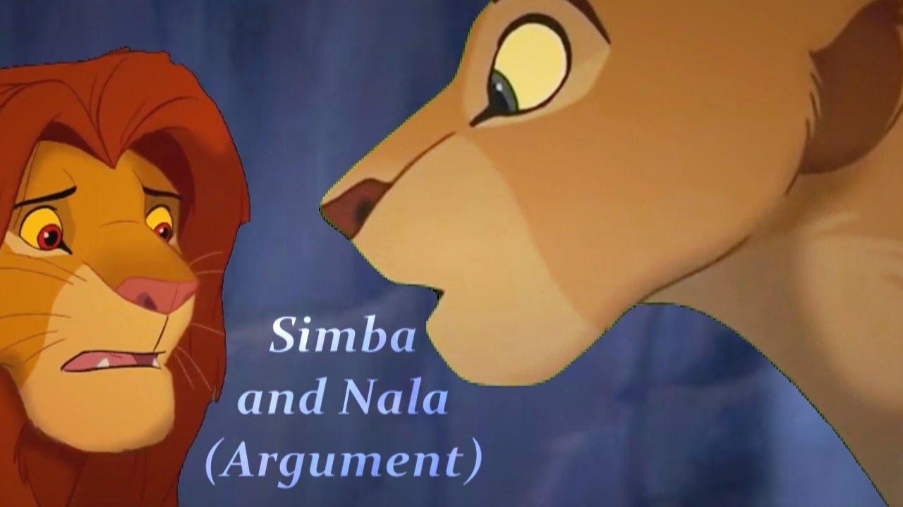 Simba And Nala Argument The Lion King 1994 2019 Youtube