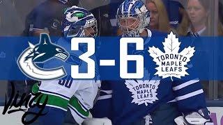 Canucks vs Maple Leafs | Highlights | Nov. 5, 2016 [HD]