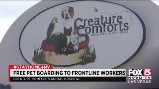 Las Vegas animal hospital offers free pet boarding