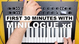 MINILOGUE xd FIRST LOOK — A MINILOGUE FANBOYS PERSPECTIVE