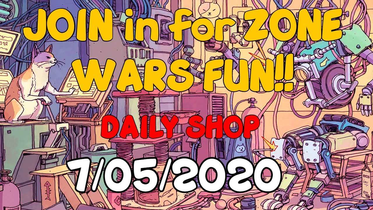 Fortnite Daily Shop Season 3 Live Updates (July 5, 2020) - JOIN in for ZONE WARS fun