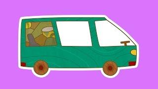 """""""Машинки"""", новый мультсериал для мальчиков - Минивэн (4 серия) Развивающий мультфильм"""