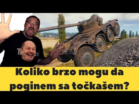 Koliko brzo mogu da poginem sa točkašem?   World of Tanks Balkan thumbnail
