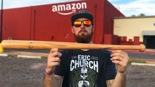 Amazon Baseball Bat Challenge! IRL Baseball Challenge