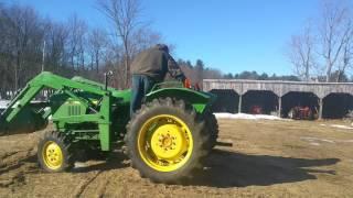 John Deere 1050 Turbo Diesel 4x4 Loader Tractor