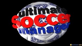Ultimate Soccer Manager gameplay (PC Game, 1995)
