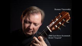 """Roman Viazovskiy on a Karl-Heinz Roemmich 2008, Model """"Exquisit"""""""