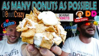 """""""AS MANY DONUTS AS POSSIBLE"""" -AMDAP CHEAT DAY CHALLENGE"""