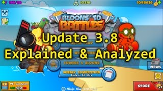BTD Battles Update 3.8 Analyzed