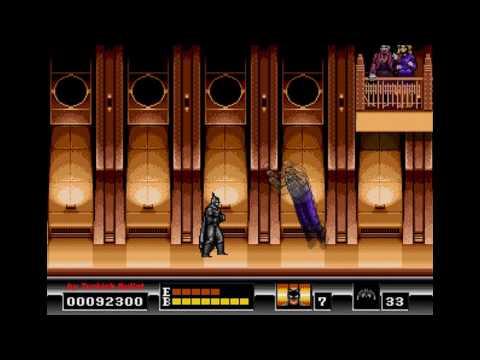 Batman: The Video Game (Japan) (Sega Mega Drive) - (Longplay | Hard Difficulty)