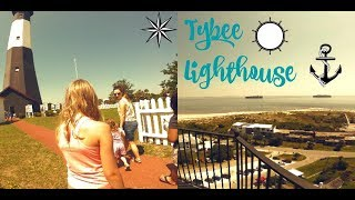 Tybee Summer Vacation Vlog| Day 4| Tybee Lighthouse Tour!