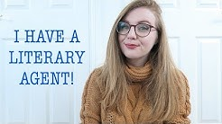 I HAVE A LITERARY AGENT!! | Writing Vlog