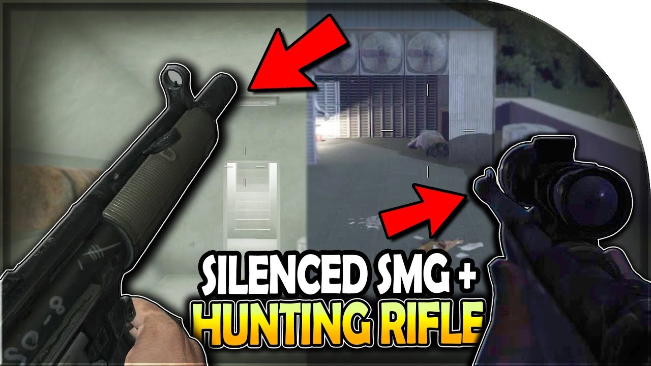 Silenced Smg Silenced Hunting Rifle Silencer Is Amazing 7 Days To Die Alpha 17 S2 Part 44 Youtube
