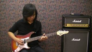 Marshall Haze 15 with Vigier Excalibur Special by Jack Thammarat ( Thai Version )