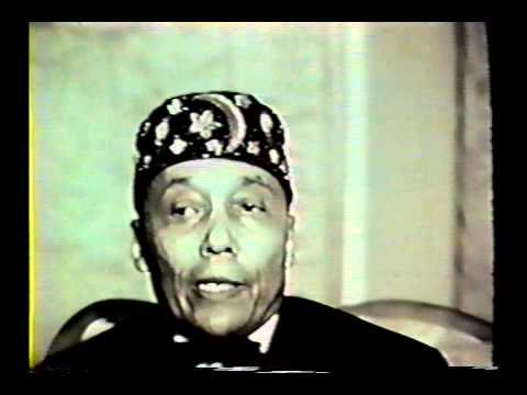 Very Rare Interview of Messenger Elijah Muhammad