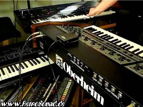 Oberheim OB-X + Sequential Prophet VS Synthesizer live jam
