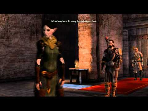 "Dragon Age 2- Merril Rivalry Romance Guide #2   ""Nice Crime You Have Here"""
