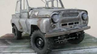 UAZ 469b RC 1:10 FULL METAL BUILD (Part 2 of 2)
