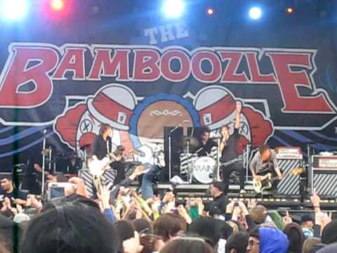 The Maine - Everything I Ask For LIVE @ BAMBOOZLE 2009