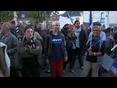 Réfugiés : Face-à-face tendu à Trégunc (Finistère)