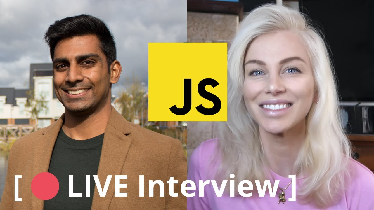 🔴 Live Interview with Ania Kubów, JavaScript Software Developer