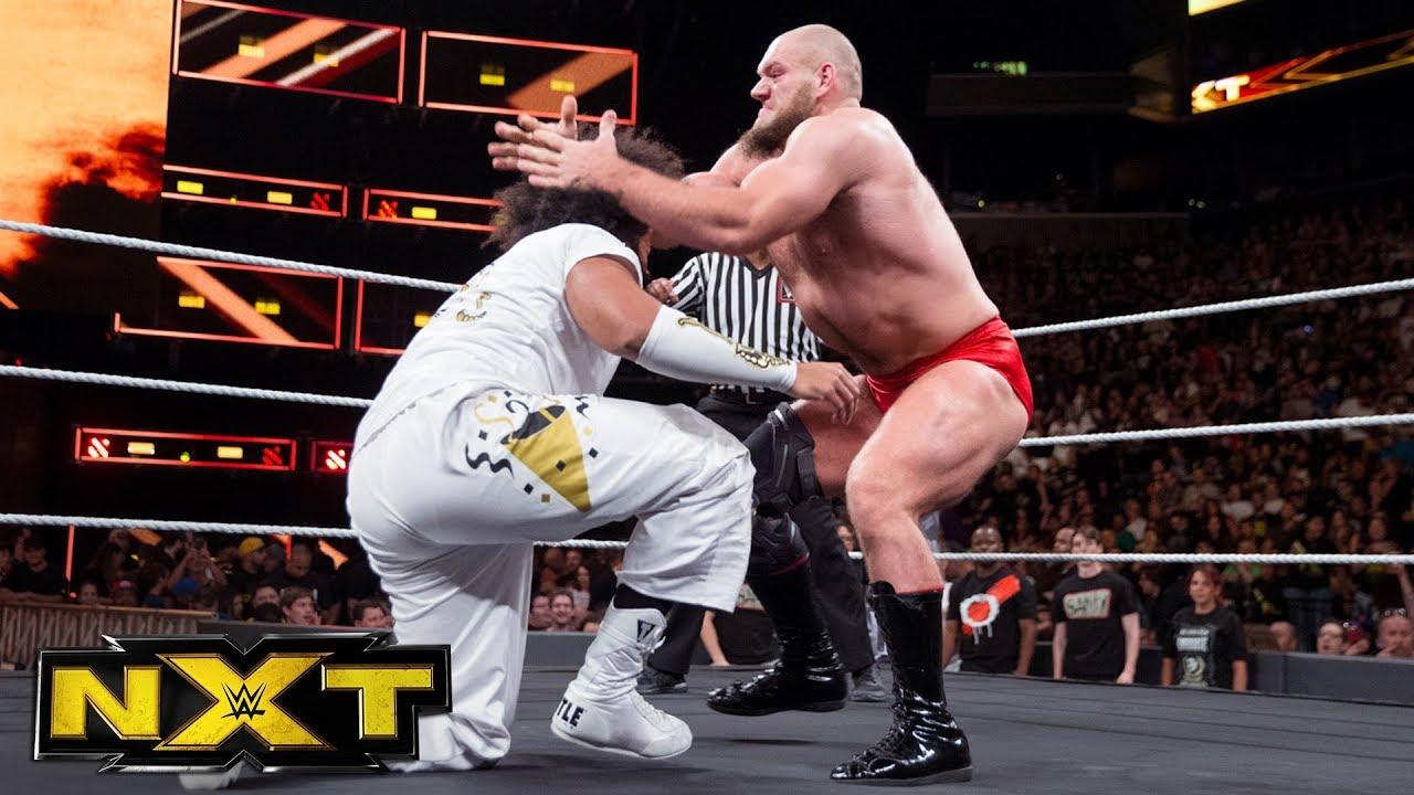 Lars Sullivan attacks No Way Jose: WWE NXT, Aug. 23, 2017