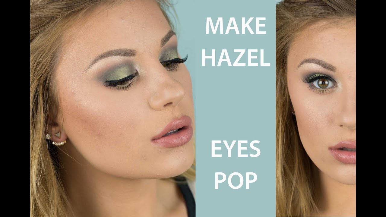 Makeup for hazel eyes and blonde hair