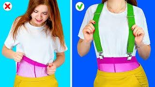 Smart DIY Clothes Hacks And Ideas / 27 Cool Winter Life-Hacks