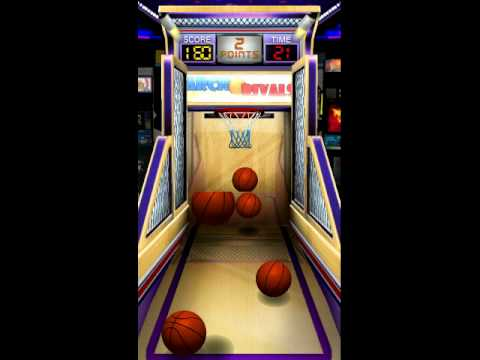 Basketball Mania Arcade Gameplay Android App