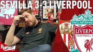 We Threw It Away... | Sevilla v Liverpool 3-3 | Paul's Match Reaction