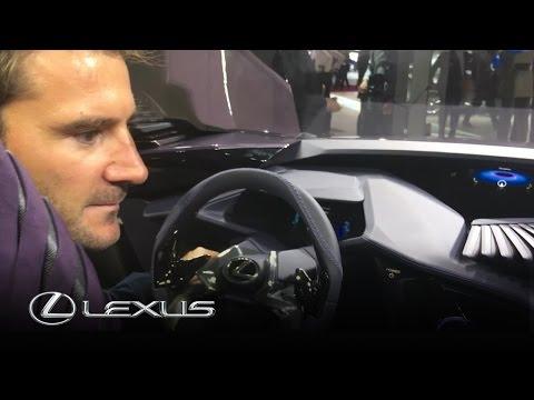 Lexus UX Concept Car – Interior with designer Alexandre Gommier