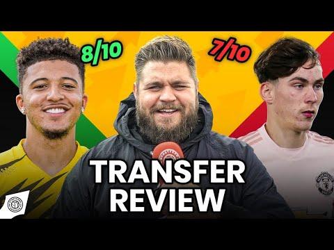 £90 Million Jadon Sancho Bid Rejected! | Transfer Review
