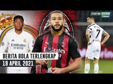 Memphis Depay Gabung AC Milan? 🤔David Alaba ke Real Madrid 🥳 Tanpa Ronaldo, Juventus Ambyar 