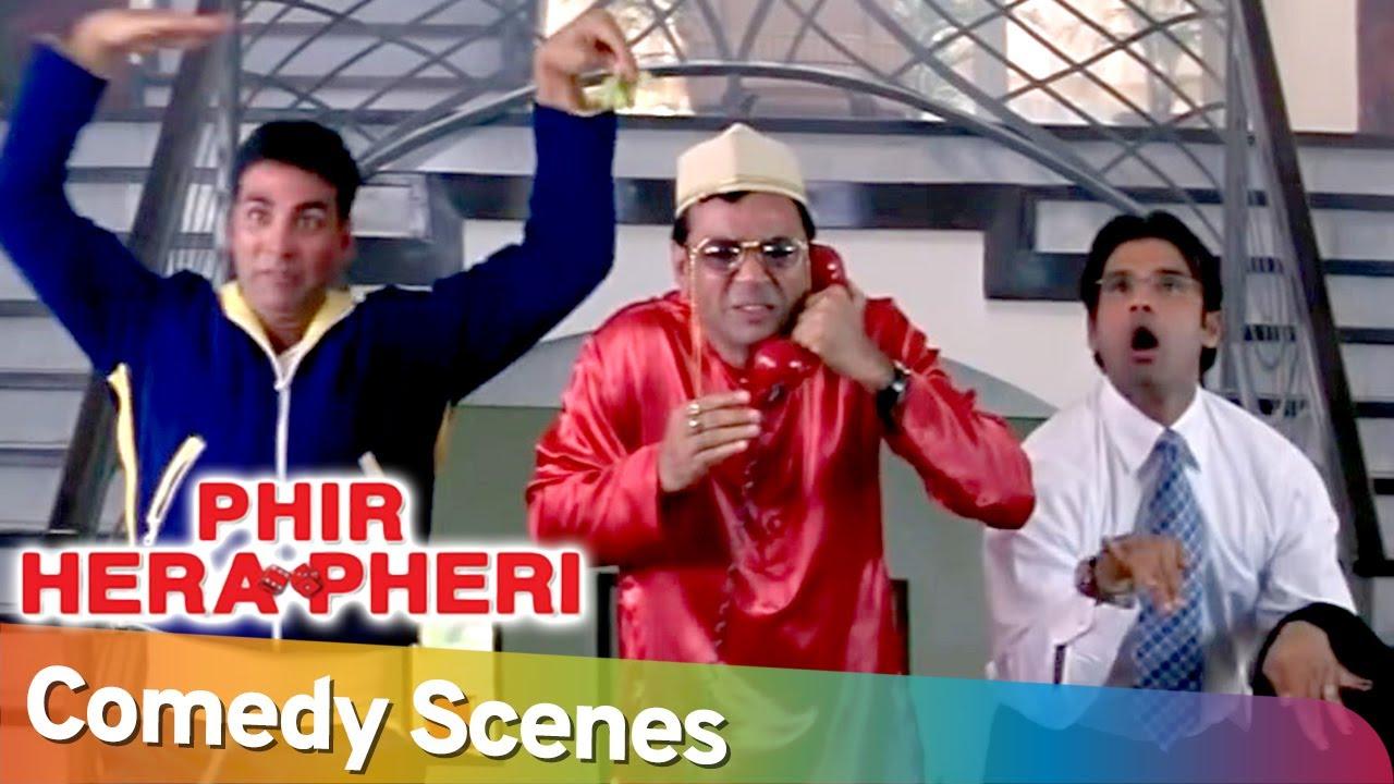 Download Phir Hera Pheri -Best Hindi Comedy Scenes | Akshay Kumar - Paresh Rawal - Johny Lever - Rajpal Yadav