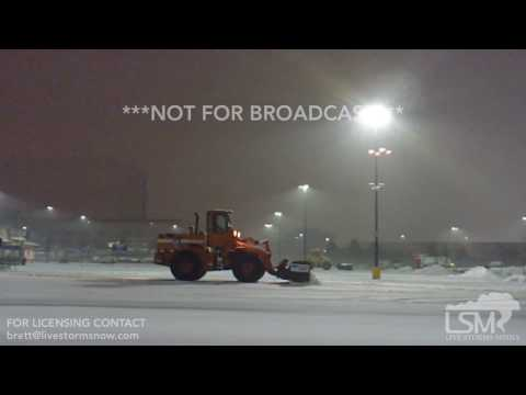 01-16-17  Centennial Colorado - Snow Removal Vehicles at Work in Heavy Snow