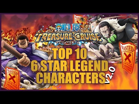 ONE PIECE TREASURE CRUISE - Top Ten Legend Characters v2.0