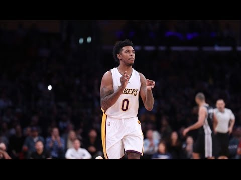Nick Young Dunks over Francisco García