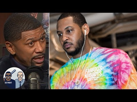 Jalen Rose: I don't think Carmelo Anthony will play another NBA game | Jalen & Jacoby