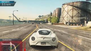 Need For Speed Most Wanted 2012:- Arch Enemies with Alfa Remo