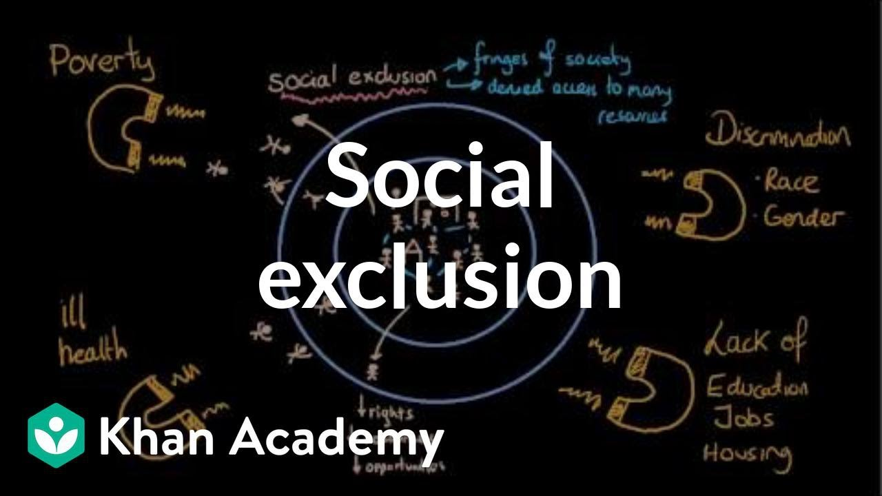 the effects of social exclusion Existing research on young people has tended to ignore the different ways in which young people get by, grow up and make transitions to adulthood in areas labelled as socially excluded.